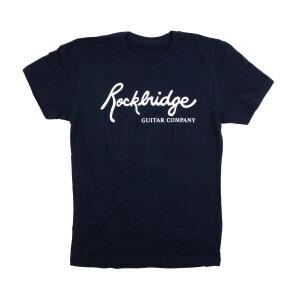 Men's Rockbridge Logo T-shirt on Blue