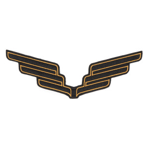 "10"" Wings Patch"