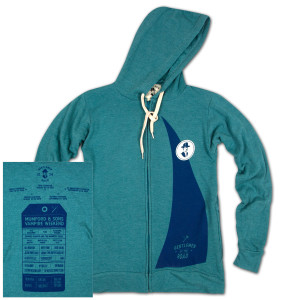 GOTR Ladies Custom Zip Hoodie w/ Zip Pockets - ALGAE