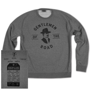 Stamp Unisex Pullover Sweatshirt – Gunmetal Heather
