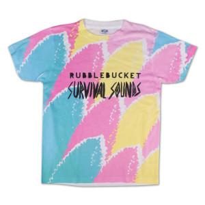 Rubblebucket Sublimated Survival Sounds T-Shirt