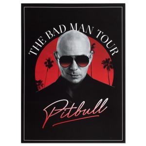 The Bad Man Tour Poster