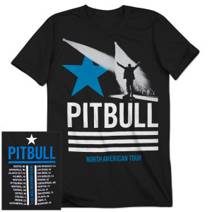 PITBULL Tour T-Shirt