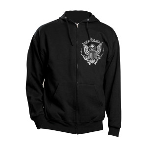 Crest Zip Hooded Sweatshirt