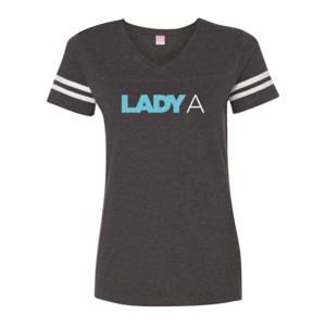Lady Antebellum Ladies Football Tee