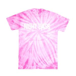 Night Bass Pink Tie Dye T-Shirt