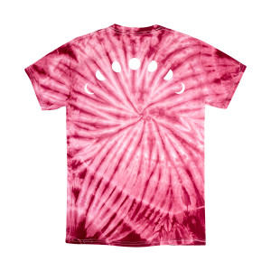 Night Bass Maroon Tie Dye T-Shirt