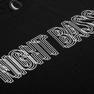 Night Bass Double Vision Short Sleeve T-Shirt