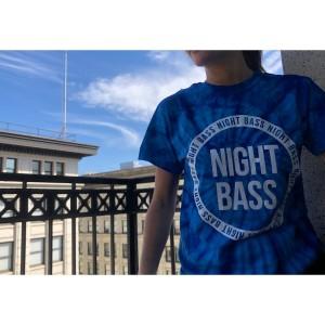 Night Bass BlueTie Dye T-Shirt