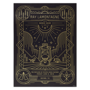 Part Of The Light Tour 2018 - 6/8 Irving TX Poster