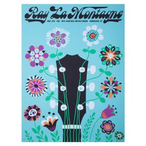 Ray LaMontagne 2014 Canandaigua, NY Event Poster