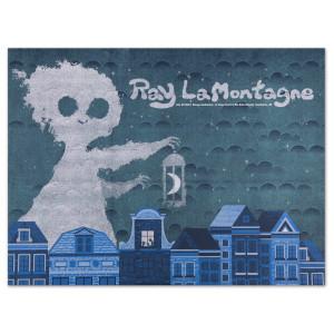 Ray LaMontagne 2014 Interlochen, MI Event Poster