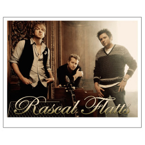 Rascal Flatts 8 x 10 Photo