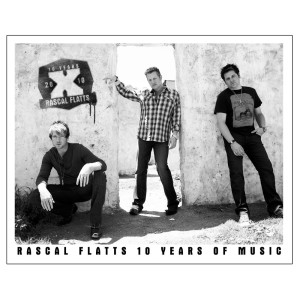 Rascal Flatts 8 x 10 Tour Photo