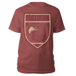 RDGLDGRN Eagle Shield Tee