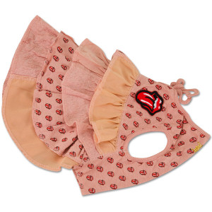 Rolling Stones - Pink Tongue Logos Doggie Outfit