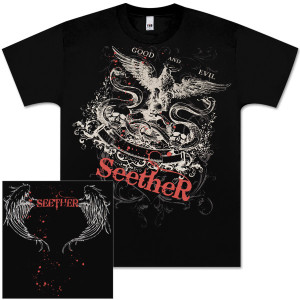 Seether Good and Evil Men's T-Shirt