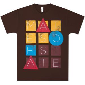 Mates Of State Men's Blocks T-Shirt