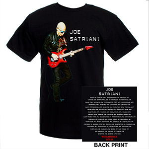 Joe Satriani Wormhole 2010/11 Tour Tee
