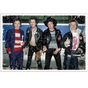Sex Pistols Sex Pistols USA 1978 Lithograph