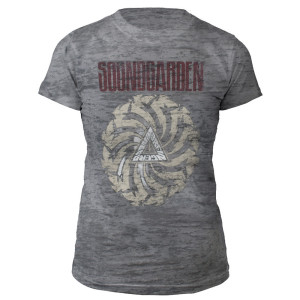 Women's Badmotorfinger Burnout Tee