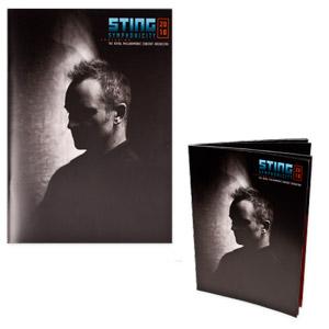 Sting Symphonicity Tour Program