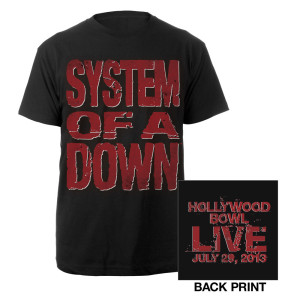 Hollywood Bowl Event Tee