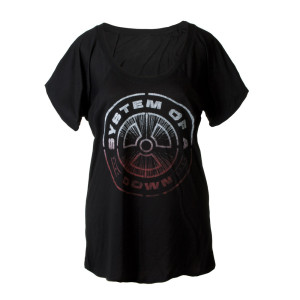 SOAD Nuclear Scoop Neck Ladies Tee