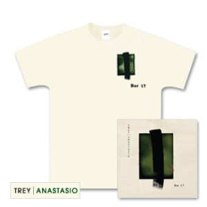Trey Anastasio Bar 17 CD and T-Shirt Package
