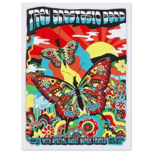 Trey Anastasio LOCKN' Music Festival, Arrington, VA 2019 Poster