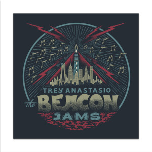 Trey Anastasio The Beacon Jams Lithograph by Your Cinema