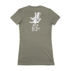 Mr. Oysterhead Women's Tour T-shirt