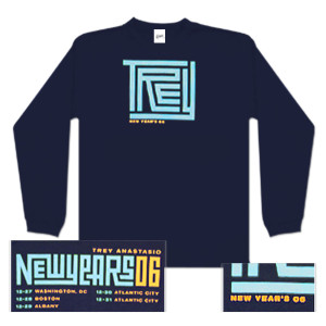 Trey Anastasio Long Sleeve New Years Maze T-Shirt