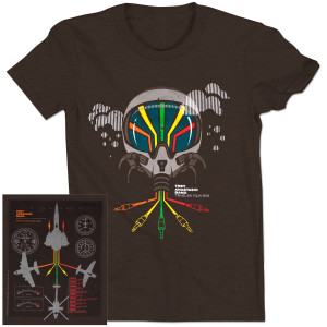 Trey Anastasio Band Pilot Traveler Tour T on Brown