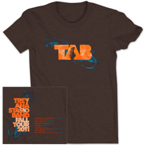 TAB Fall 2011 Tour T-Shirt