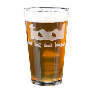Lateralus Logo Pint Glass