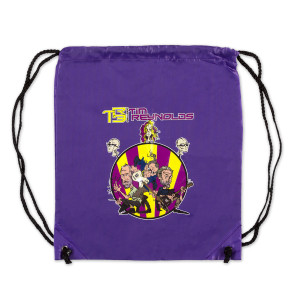 TR3 CARTOON DRAWSTRING BAG (PURPLE)
