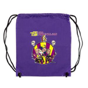TR3 CARTOON DRAWSTRING BAG (PURPLE)