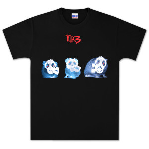 3 Hampster w/ Gasmasks T-Shirt