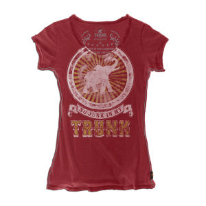 No Junk in My Trunk V-neck T-Shirt