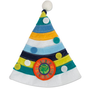 Laurie Berkner Party Day Hats - Blue Multicolor