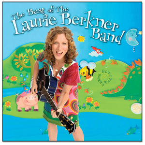 The Best of the Laurie Berkner Band CD - PROMO
