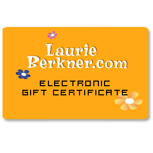 Laurie Berkner Band - Electronic Gift Certificate