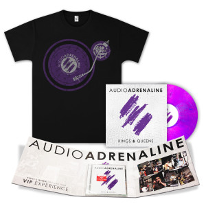 Kings & Queen Vinyl + CD with VIP Autographed Folder + T-Shirt Bundle