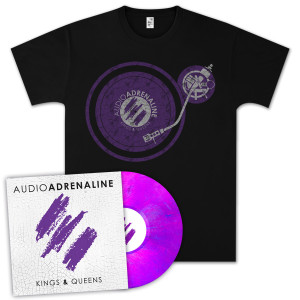 Kings & Queens Vinyl + Turntable Shirt Bundle