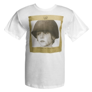 U2com  The Best of 1980-1990 Album Cover T-Shirt