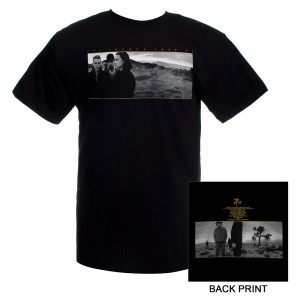 U2com The Joshua Tree Album Cover T-Shirt