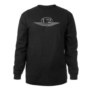 U2 Silver Wings Logo Long Sleeve