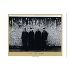 U2 No Line on the Horizon Litho Series Fez Moro