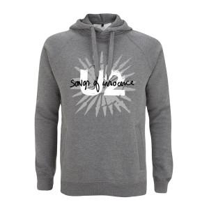 Songs Of Innocence Pull Over Hooded Sweatshirt (Grey)